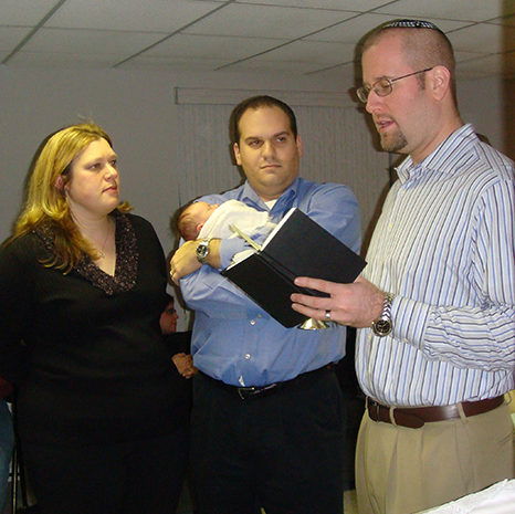 Rabbi Jason Miller - Jewish Baby Naming Ceremony for Baby Girl